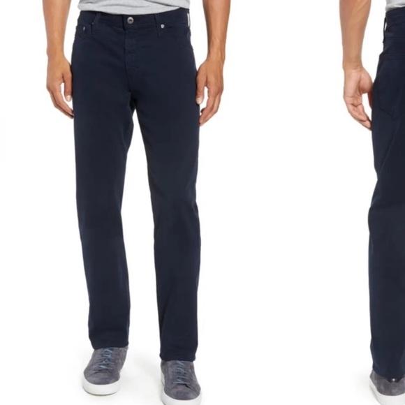 AG Men's Everett Slim Straight Pants Blue Vault